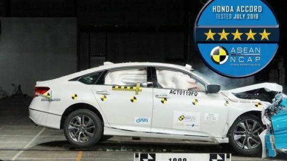 Honda Accord Jalani Uji Tabrak, Apa Hasilnya?