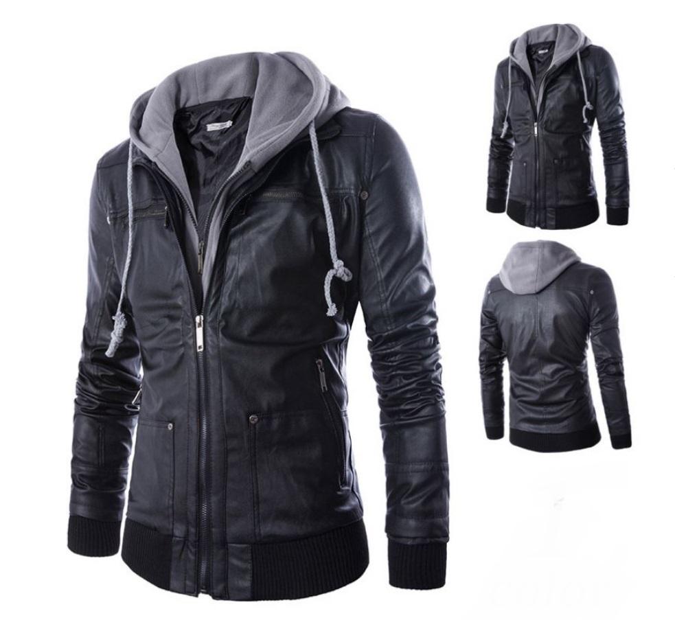 biker jacket hodie