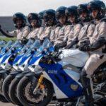 Keren! Polisi Abu Dhabi Pakai Motor Ducati Panigale V4 S
